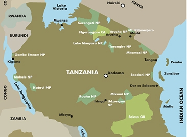 17 Days Safari Kilimanjaro Trekking – Serengeti – Ngorongoro – Zanzibar